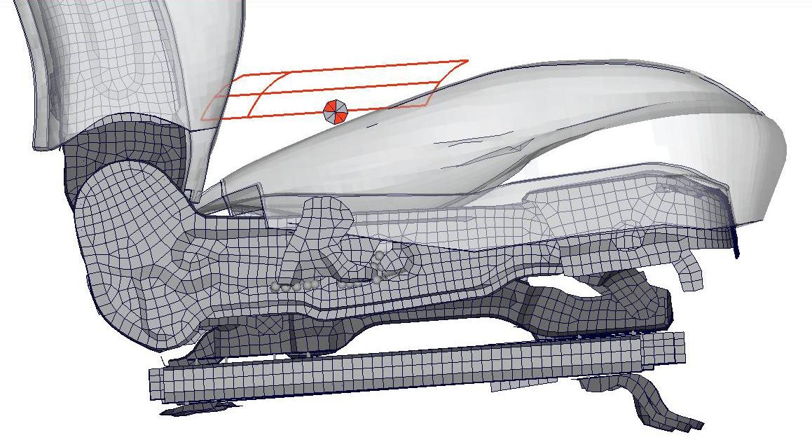 Sitzberechnung Modellaufbau