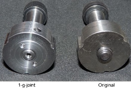 Dummy-Entwicklung 1-g-joint